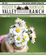 Hidden Valley Hanson Ranch - Current Issue